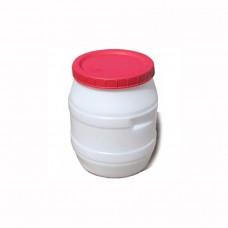 Бочка пищевая 40 литров с крышкой d=37 Консенсус