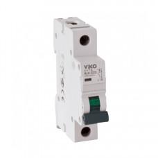 Автоматический выключатель однополюсный 1С 4VTB-1C10 VIKO 10A