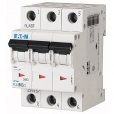 Автоматический выключатель PL4-C32А-3 Еaton