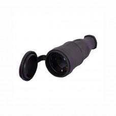Штепсельная розетка с заглушкой Lezard 106-0400-102