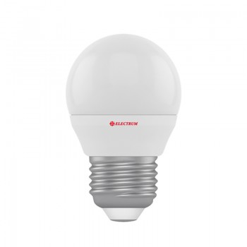 Лампа светодиодная шар Electrum, LB-4 Яркий свет 4W E27, A-LB-0515
