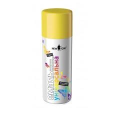 Краска аэрозольная NewTon 400 мл лимонная