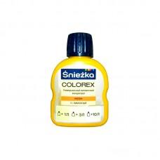 Пигмент Sniezka Colorex универсальный №11 лимонный 100 мл