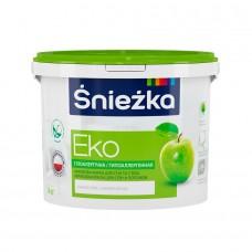 Краска водоэмульсионная «EKO» Sniezka 10 л