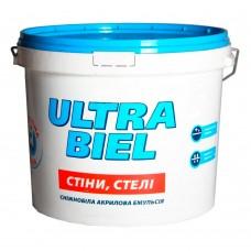 Краска водоэмульсионная «Ультра Бель» Sniezka 5 л