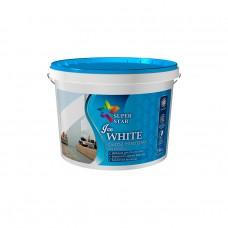 Краска для стен и потолков ТМ «Super Star» Ice WHITE 1.4 кг