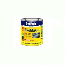 Экомаль ПФ - 115 Polifarb белая 0.9 кг