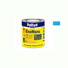 Экомаль ПФ - 115 Polifarb голубая 0.9 кг