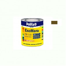 Экомаль ПФ - 115 Polifarb коричневая 0.9 кг