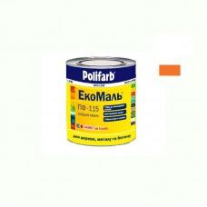 Экомаль ПФ - 115 Polifarb оранжевая 0.9 кг