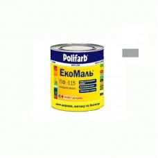 Экомаль ПФ - 115 Polifarb светло серая 0.9 кг