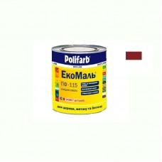 Экомаль ПФ - 115 Polifarb вишневая 0.9 кг