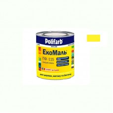 Экомаль ПФ - 115 Polifarb желтая 0.9 кг