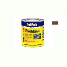 Экомаль ПФ - 115 Polifarb желто коричневая 0.9 кг
