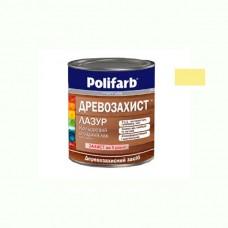Древо защитная лазурь Polifarb желтая 0.7 кг