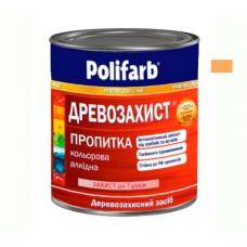 Древо защитная пропитка Polifarb махагон 0.7 кг
