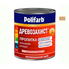 Древо защитная пропитка Polifarb орех темный 0.7 кг