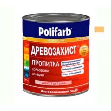 Древо защитная пропитка Polifarb тик 0.7 кг