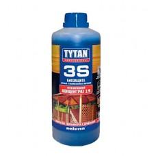 Биозащита для дачной и садовой древесины Tytan 3S 1л