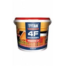 Огнебиозащита для древесины ТИТАН 4F 1кг