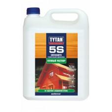 Биозащита для дачной и садовой древесины Tytan 5S 5л бесцветная