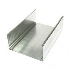 Профиль CW 100 металлический оцинкованный 3 метра, 0.45 мм