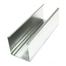 Профиль CW 50 металлический оцинкованный 3 метра, 0.45 мм