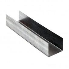 Профиль UD 18 металлический оцинкованный 3 метра, 0.5 мм