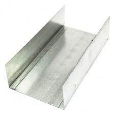 Профиль UW 75 металлический оцинкованный 3 метра, 0.45 мм