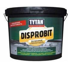 Битумно каучуковая мастика Tytan Disprobit для ремонта кровли и гидроизоляции 10кг