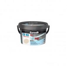 Затирка для швов Ceresit CE 40 жасмин, 2 кг