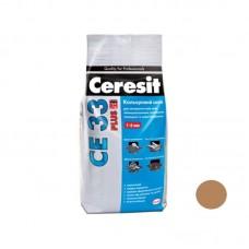 Затирка для швов Ceresit PLUS CE-33 карамель, 2кг