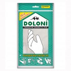 Перчатки Doloni латексные без пудры 4559 L