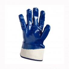 Перчатки Doloni нитрил синие 851 крага
